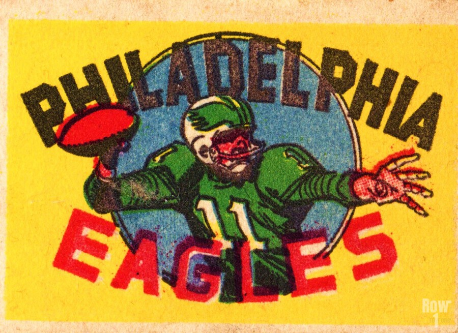 1970s_National Football League_Philadelphia Eagles_Row One Brand  Print