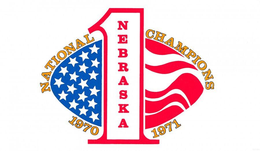 1971 nebraska cornhuskers football national champions poster  Print