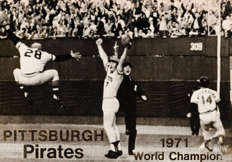 1971 Pittsburgh Pirates World Champions Art  Print