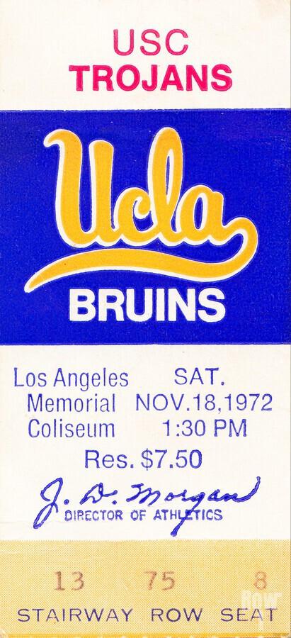 1972 USC vs. UCLA  Print