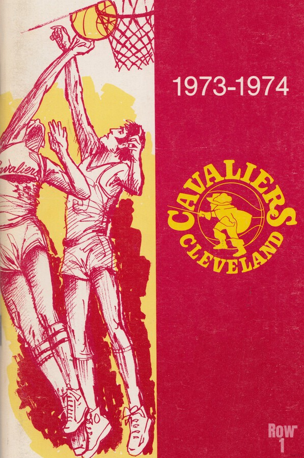 1973 Cleveland Cavaliers   Print