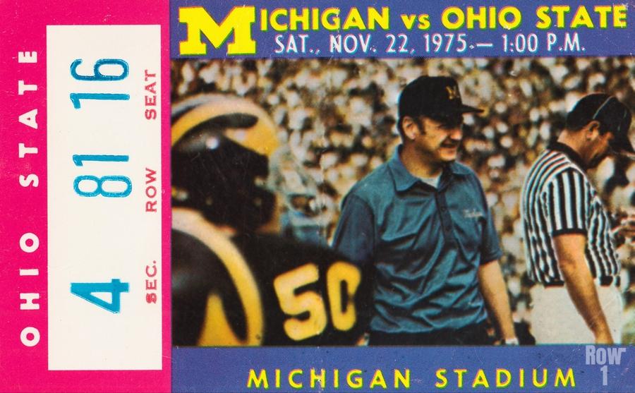 1975 Ohio State vs. Michigan  Print