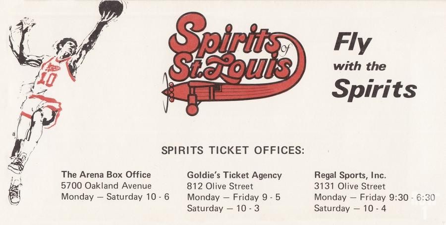 1976 Spirits of St. Louis Basketball Team Art  Print
