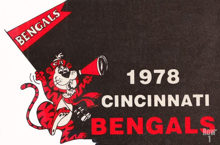 1978 Cincinnati Bengals Poster    Print