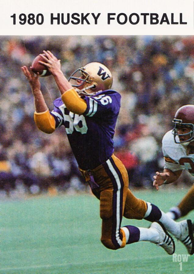 1980 Washington Huskies Football Poster  Print
