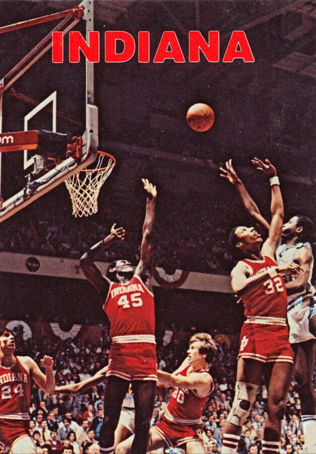 1981 indiana hoosiers basketball poster  Print