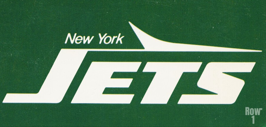 1981 new york jets reproduction artwork  Print