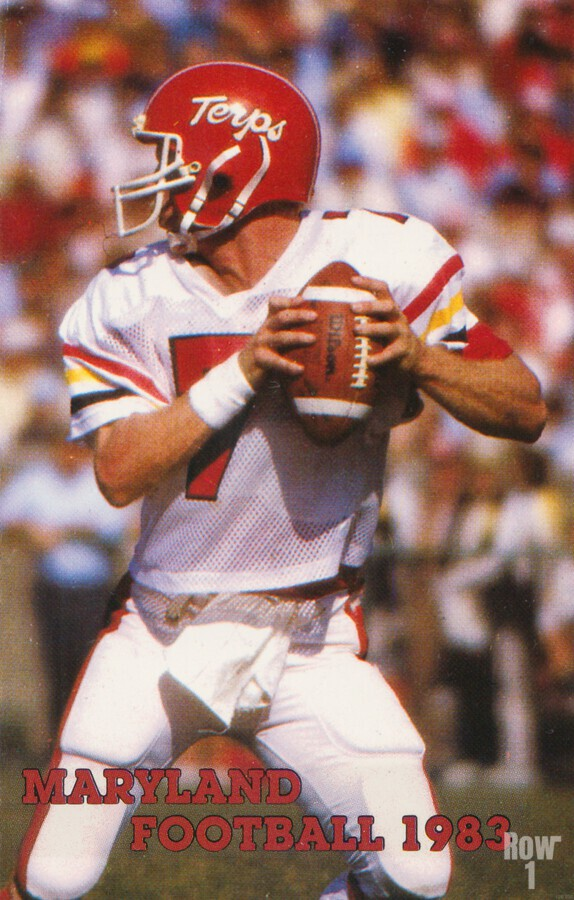 1983 Maryland Football Boomer Esiason  Print