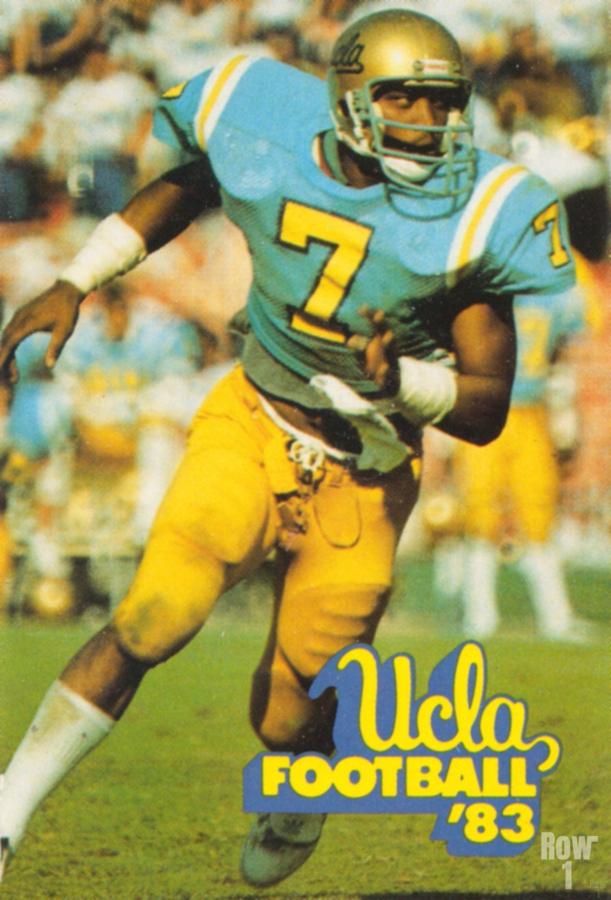 1983 UCLA Bruins Football Poster  Print
