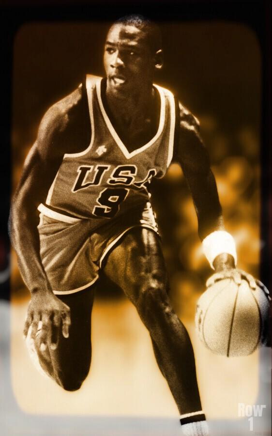 1984 michael jordan usa olympic basketball team  Print