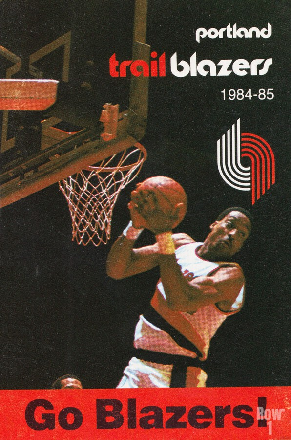 1984 Portland Trailblazers  Print