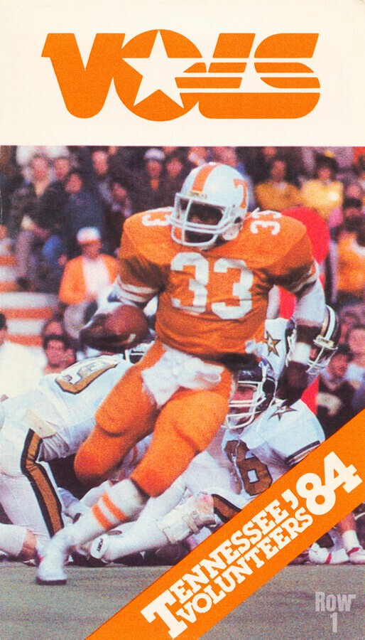 1984 tennessee vols college football poster  Print