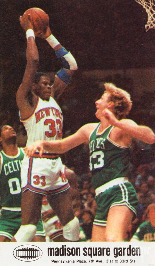1986 New York Knicks  Print