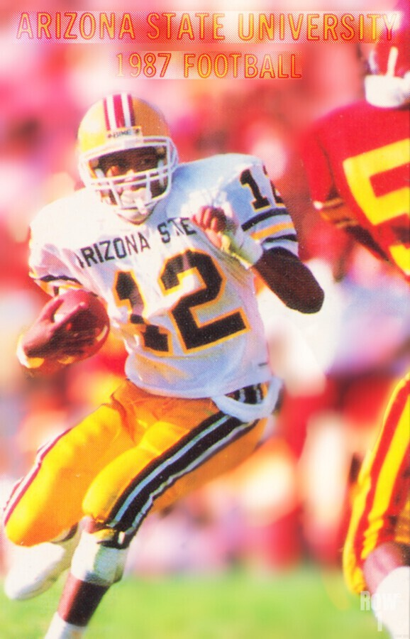 1987 Arizona State Football Poster  Print