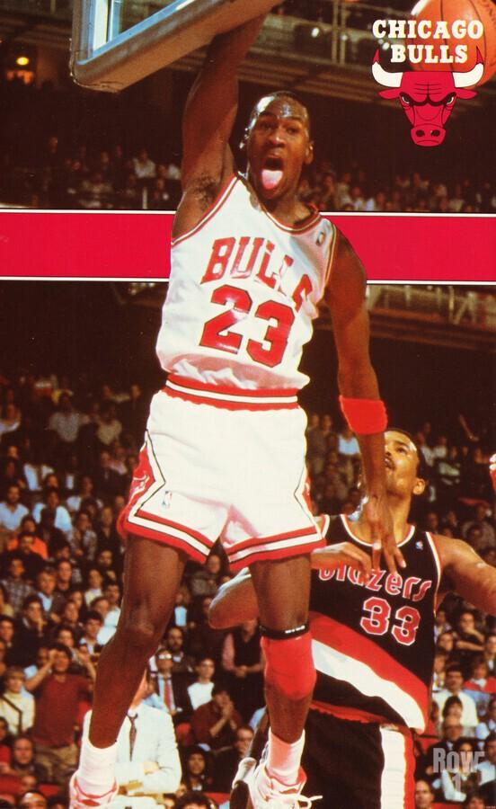 1987 michael jordan chicago stadium poster  Print