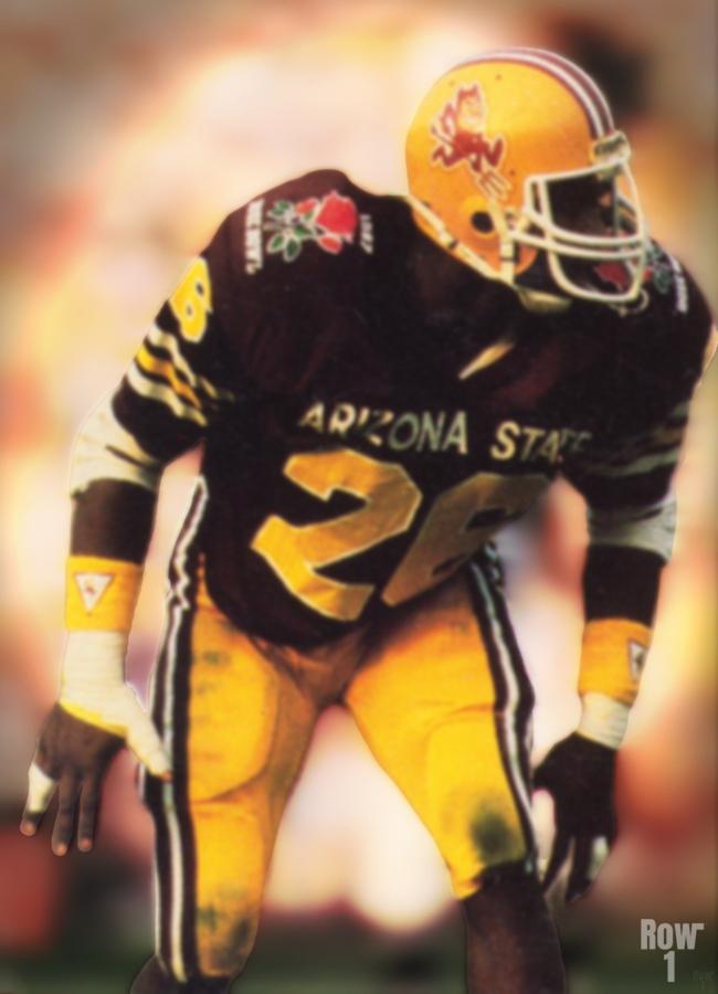 1988 Arizona State Football Art  Print
