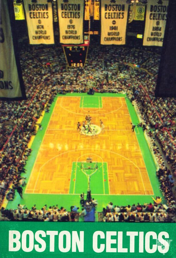 1988 Boston Celtics Boston Garden Art  Print