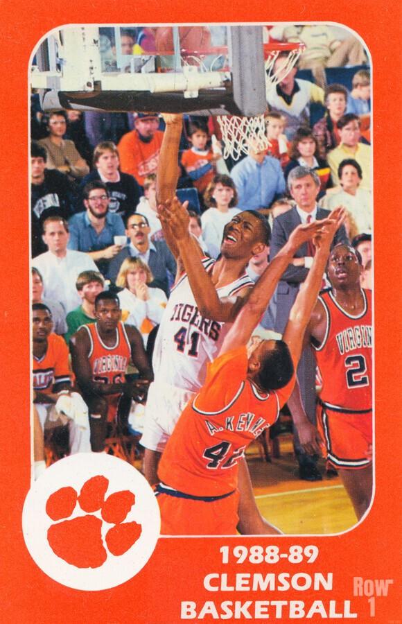 1988 Clemson Tigers Eldon Campbell  Print