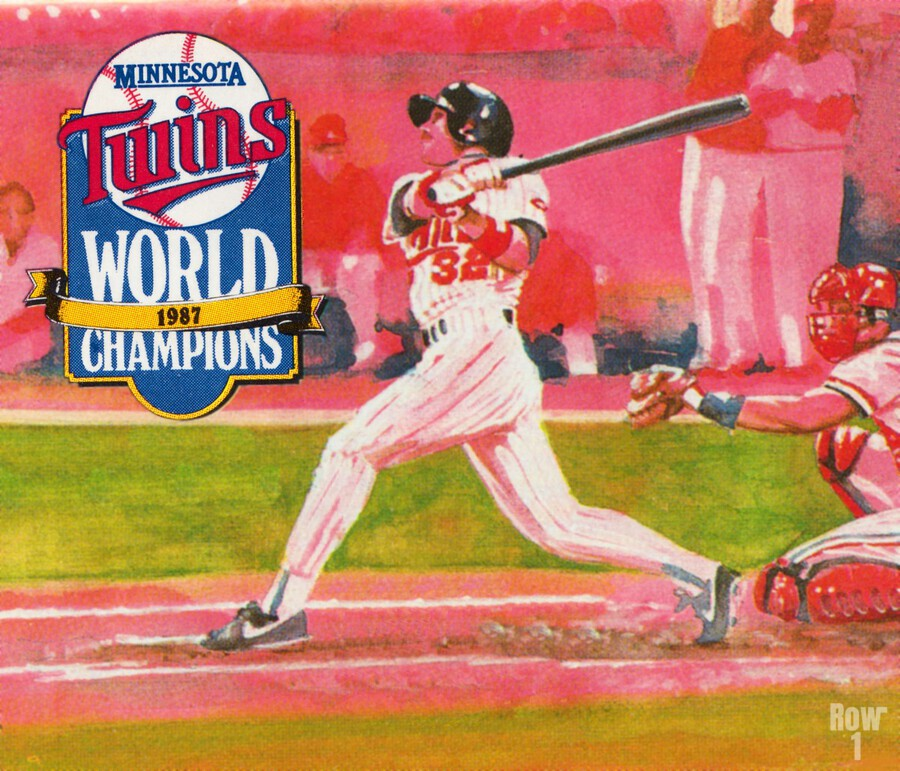 1988 Minnesota Twins Baseball Art  Print