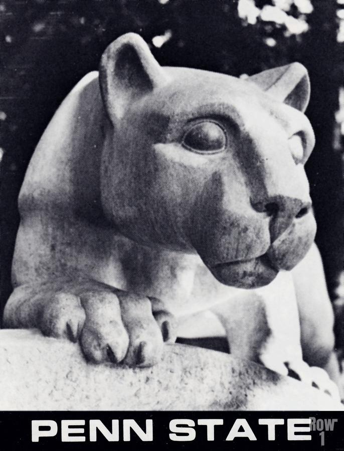 1988 Penn State Nittany Lion Shrine Art  Print