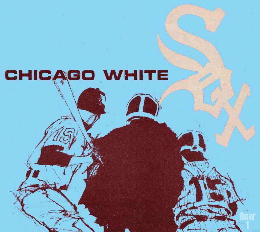 Chicago White Sox Baseball Poster Fine Art  Print