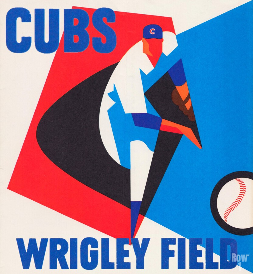 Cubs Wrigley Field Art  Print