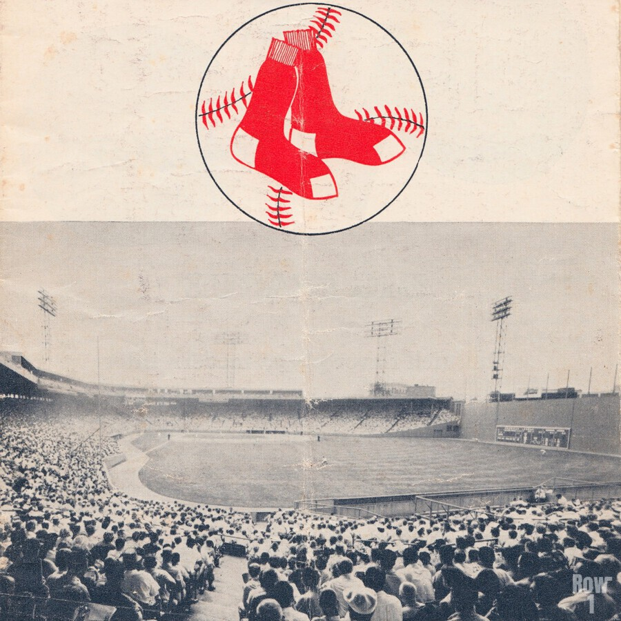 Vintage Fenway Park Poster_Boston Red Sox Photo Reproduction  Print
