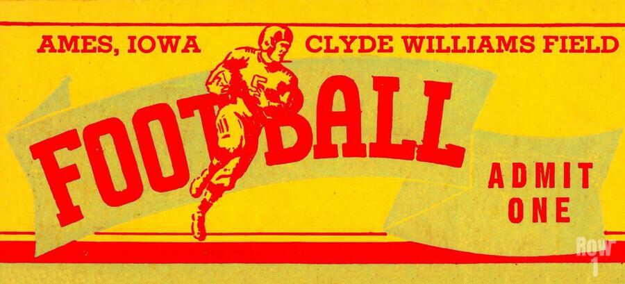 Vintage Iowa State  Print