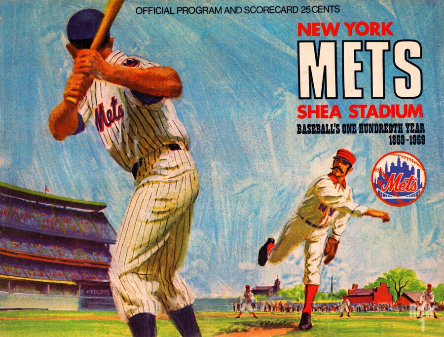 1969 New York Mets  Print