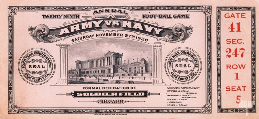 1926 Army vs. Navy  Print
