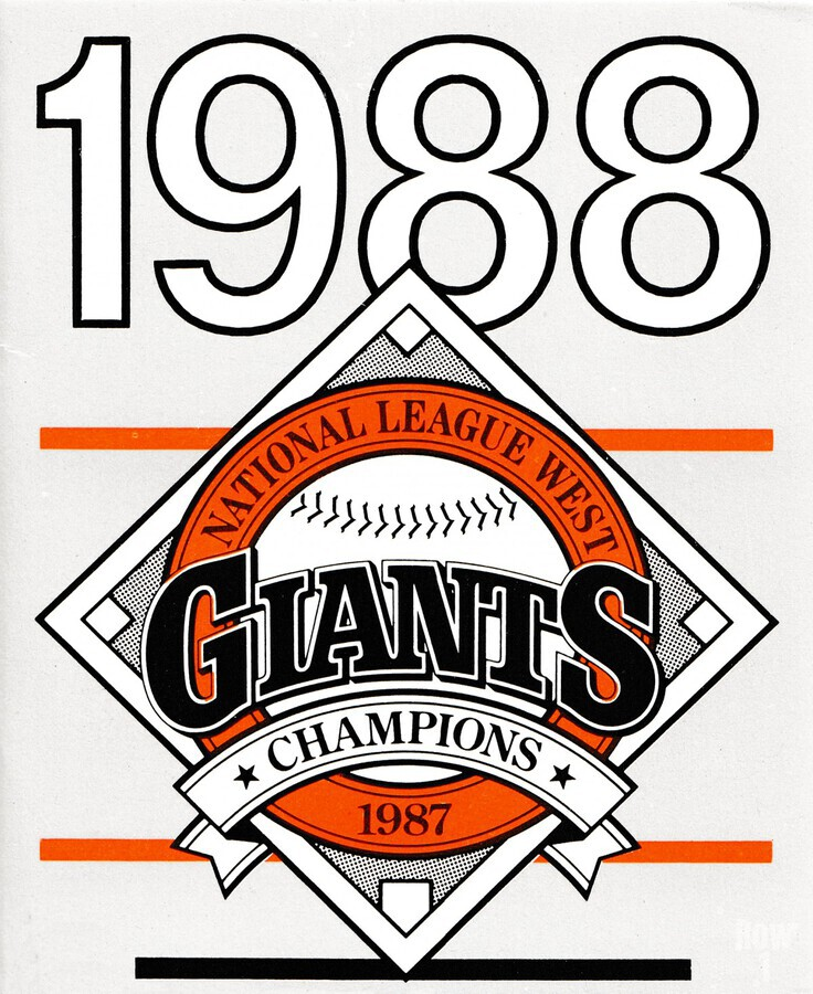 San Francisco Giants 1988  Print