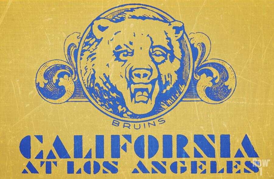 1938 California at Los Angeles  Print