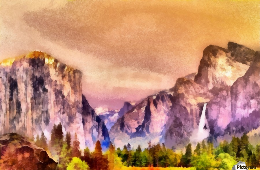 Yosemite park2  Print