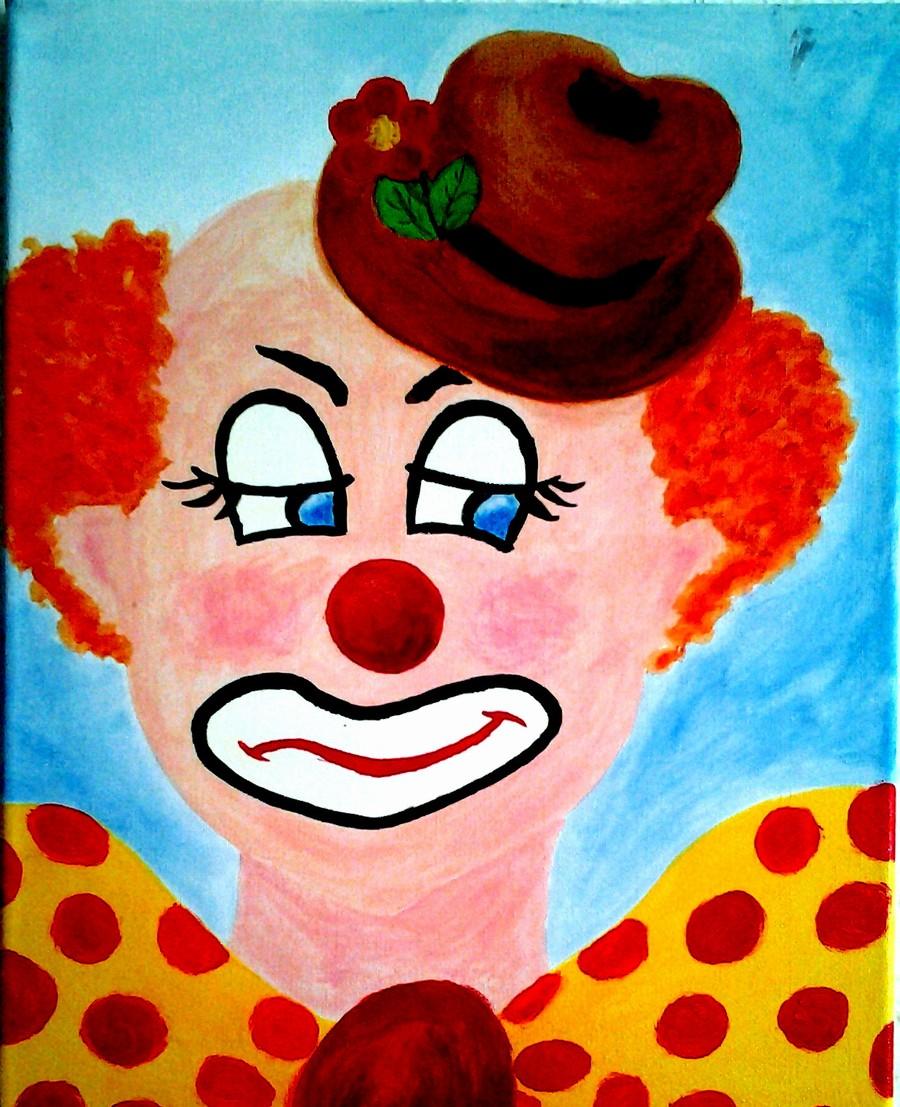 Masker, The sad Clown  Print