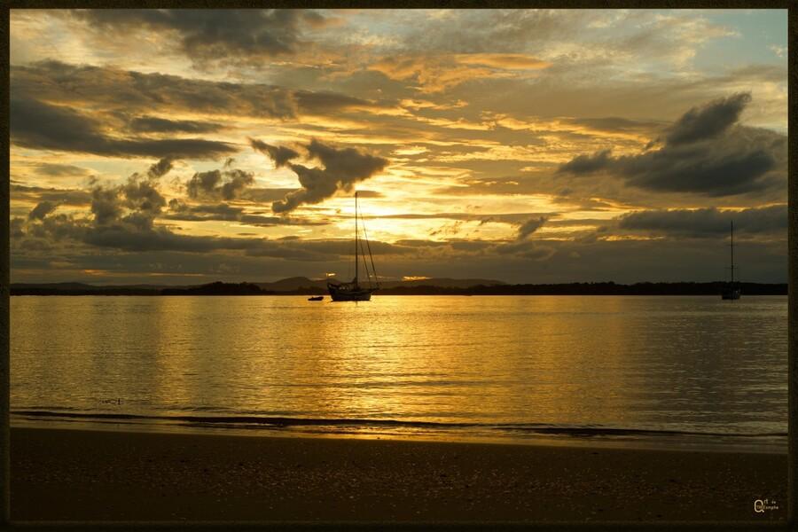 clarence river sunset  Print
