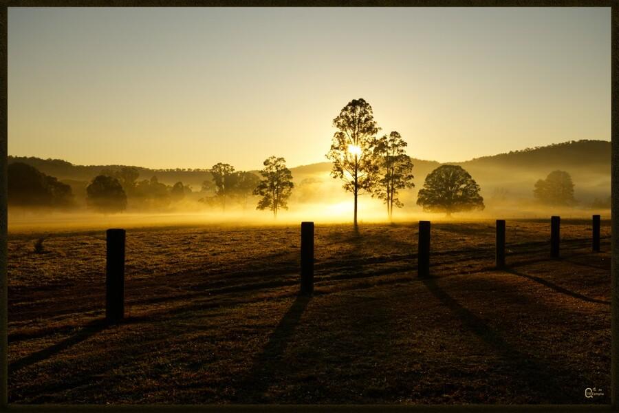 glenreagh sunrise  Print