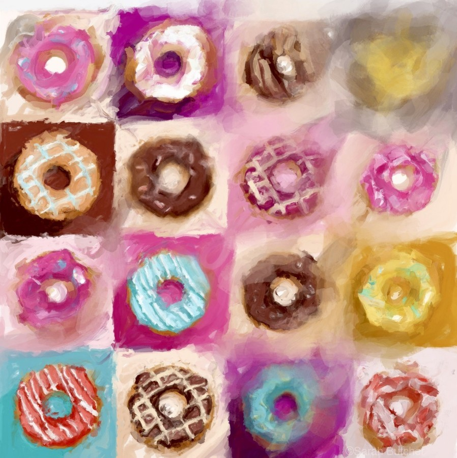 Donut Series No 1  Print