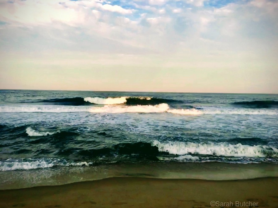 July Surf  Print