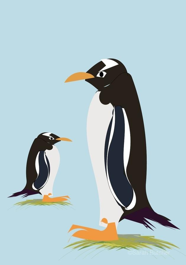 Gento Penguin  Print