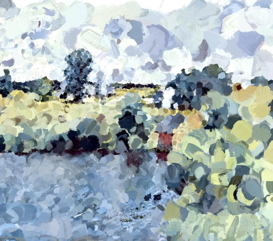 Winterthur Landscape  Print
