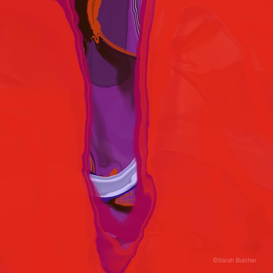Violet Shape  Print