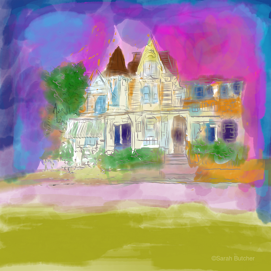 Victorian House at Cape May  Print