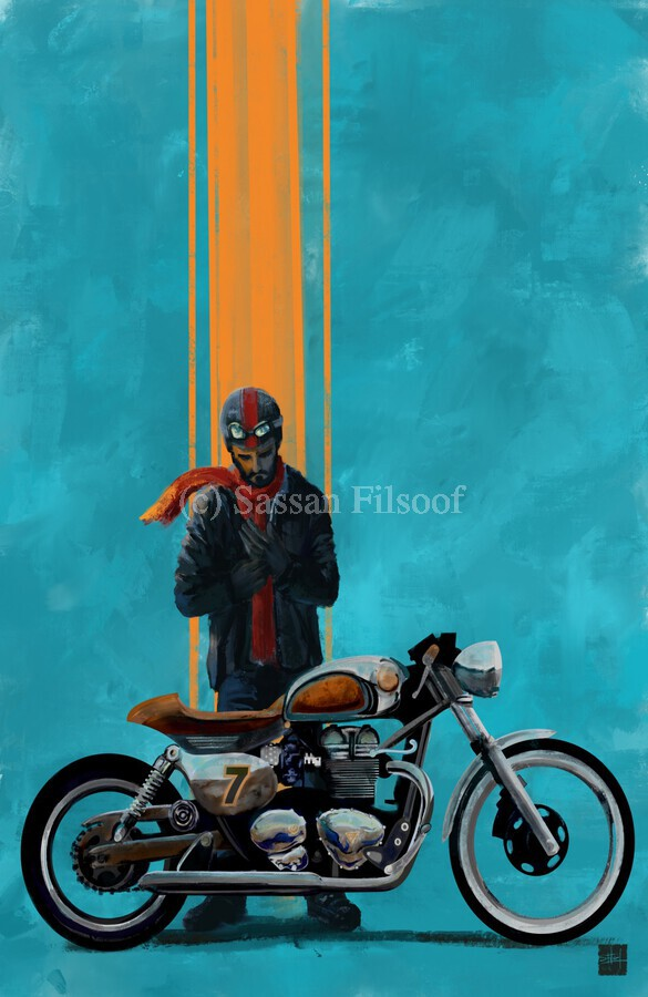 caferacer  Print