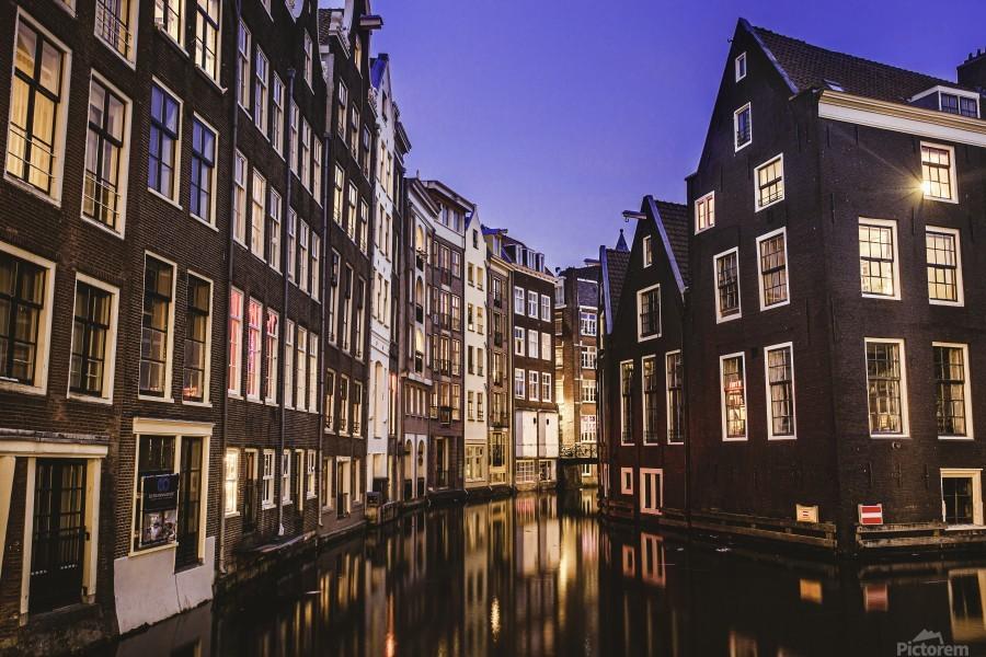 Amsterdam Lights  Print
