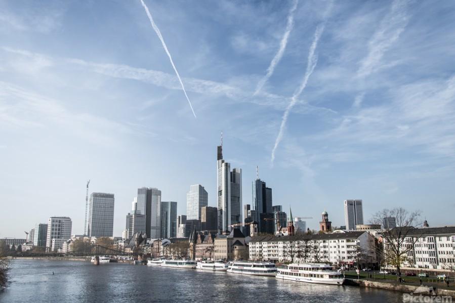 frankfurt skyscraper  Print