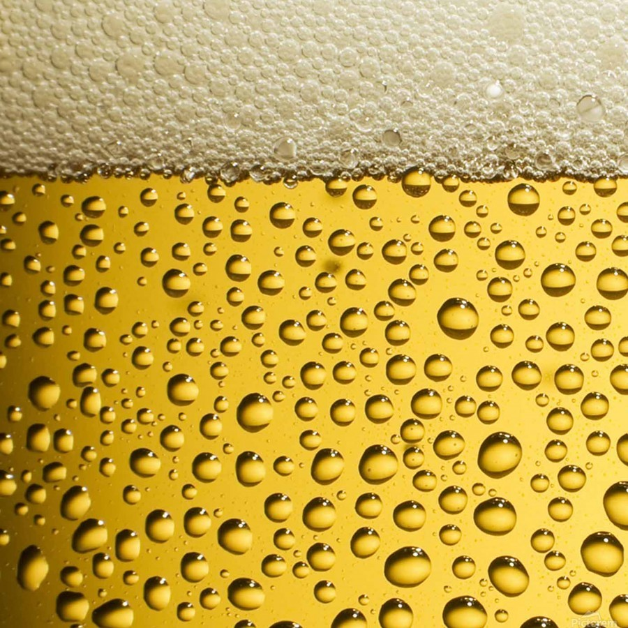 beer bubbles  Print