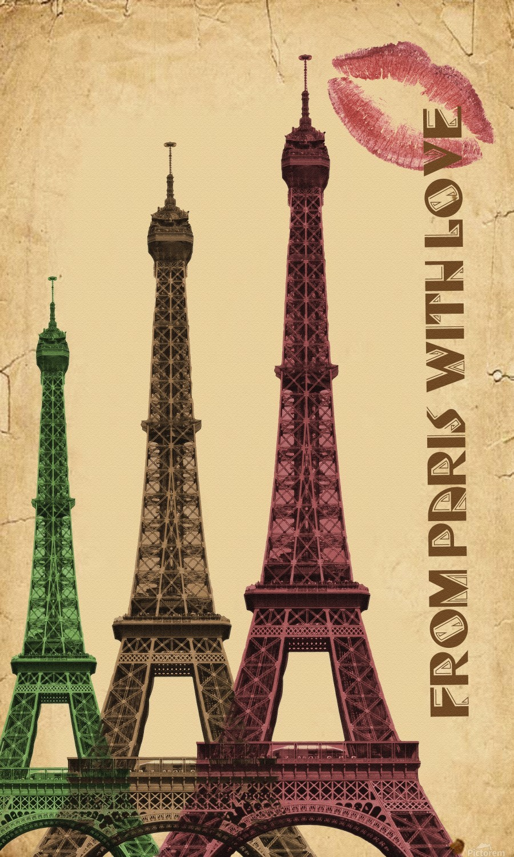 france paris paris france city  Print