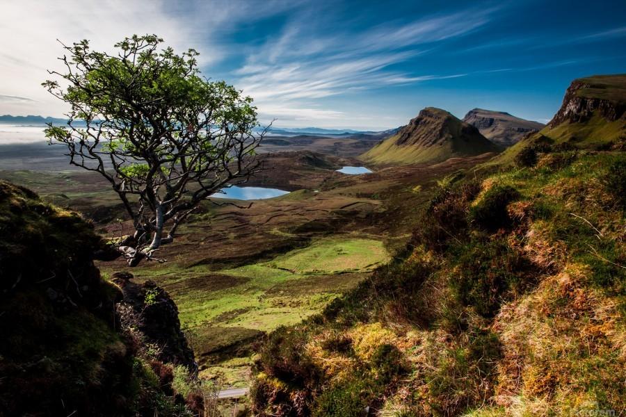 landscape quairaing scotland  Print