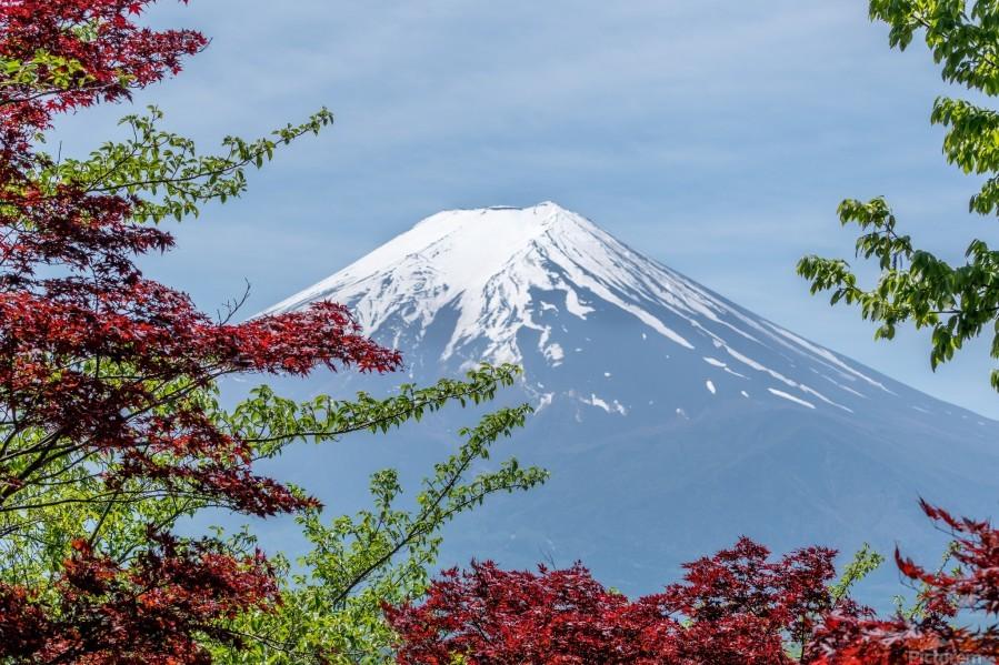 mountain mount landscape japanese  Print