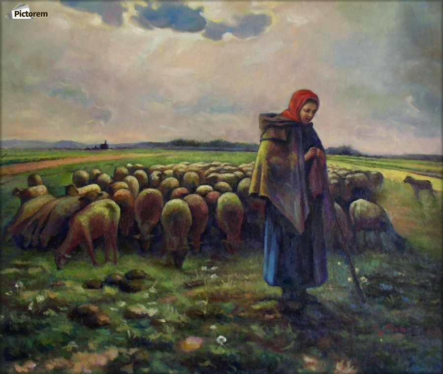 an analysis of the shepherdess and her flock by jean francois millet Jean-françois millet (october 1814 - january was a french painter and one of the founders of the barbizon school in rural france shepherdess with her flock, 1863 by jean-francois millet painting analysis, large resolution images, user comments, slideshow and much more.
